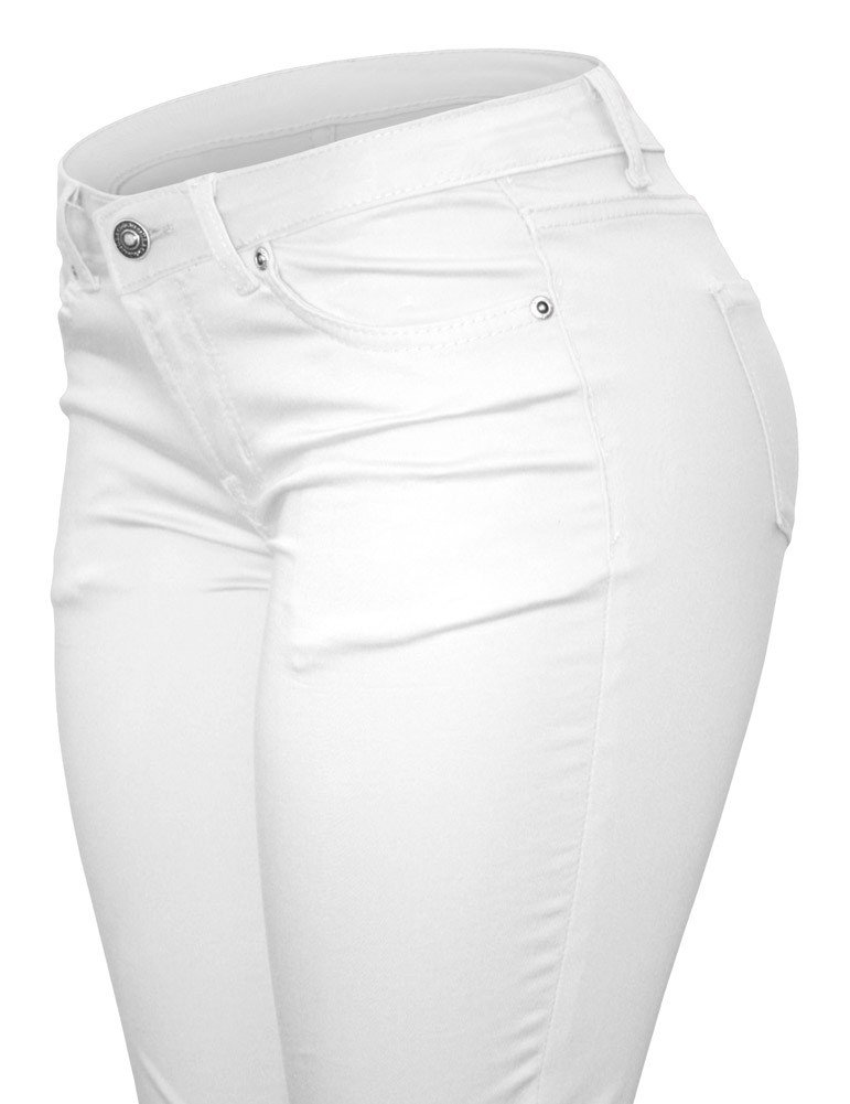 Cielo Jeans blanco stretch