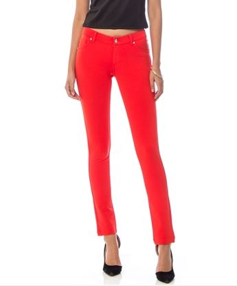 PANTALON/JEGGIN SUPER STRETCH NARANJA TIPO TERRACOTA