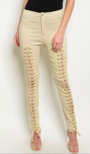 PANTALON TAUPE SUPER STRETCH