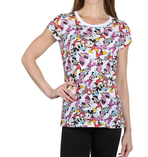 MINNIE Y MICKEY MOUSE TSHIRT MULTICOLOR