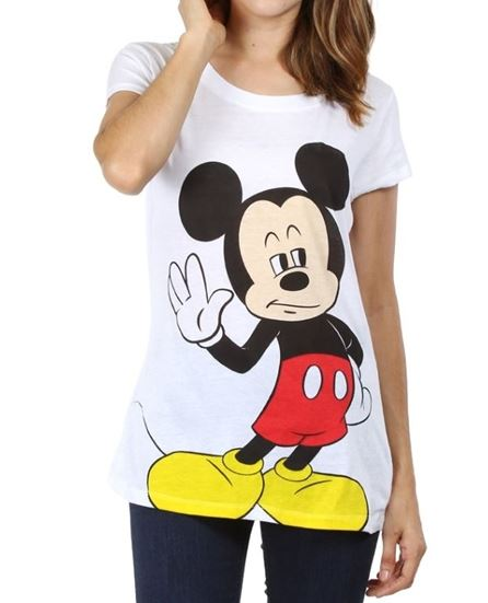 MICKEY MOUSE T-SHIRT DUAL FACE