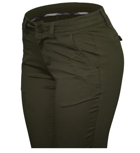PANTALON CIELO JEANS USA ARMY VERDE OLIVA STRETCH