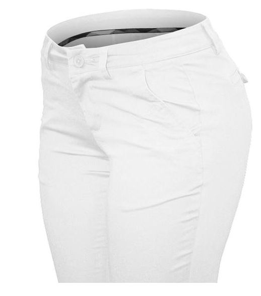 PANTALON CIELO JEANS TIPO ARMY STRETCH BLANCO