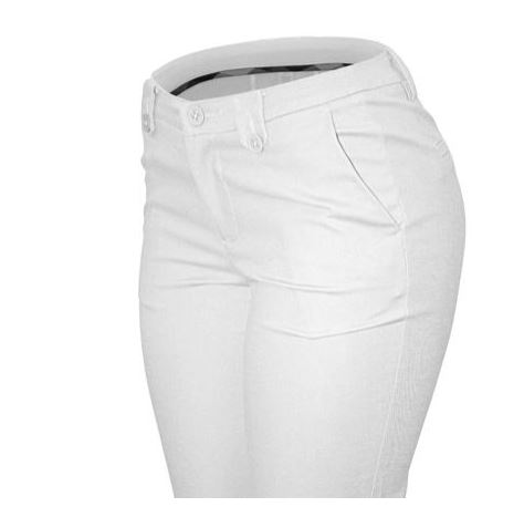PANTALON CIELO JEANS USA ARMY BLANCO STRETCH