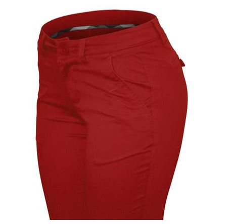 PANTALON CIELO ARMY ROJO STRETCH