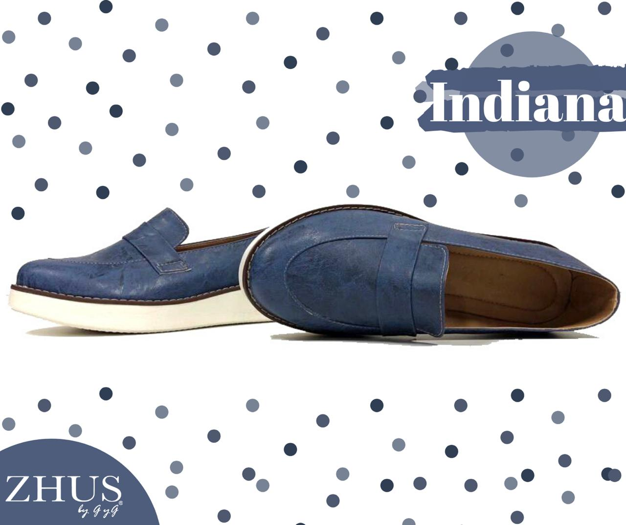 ZHUS SNEAKER AZUL LIKE DENIM