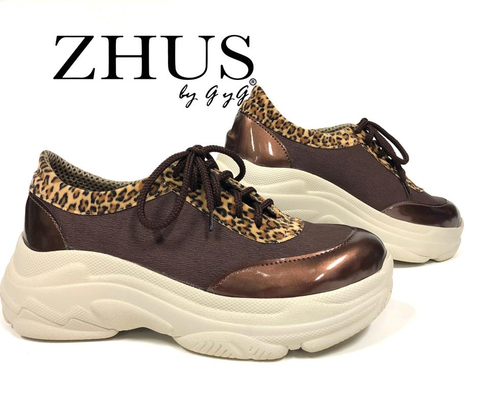 ZHUS SAHARA TENNIS CAFE ANIMAL PRINT