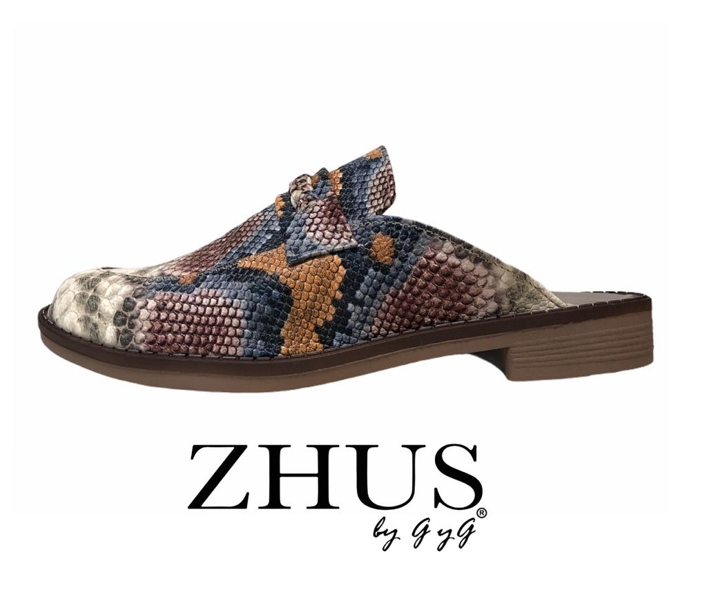 ZHUS MULE MULTICOLOR ANIMAL PRINT