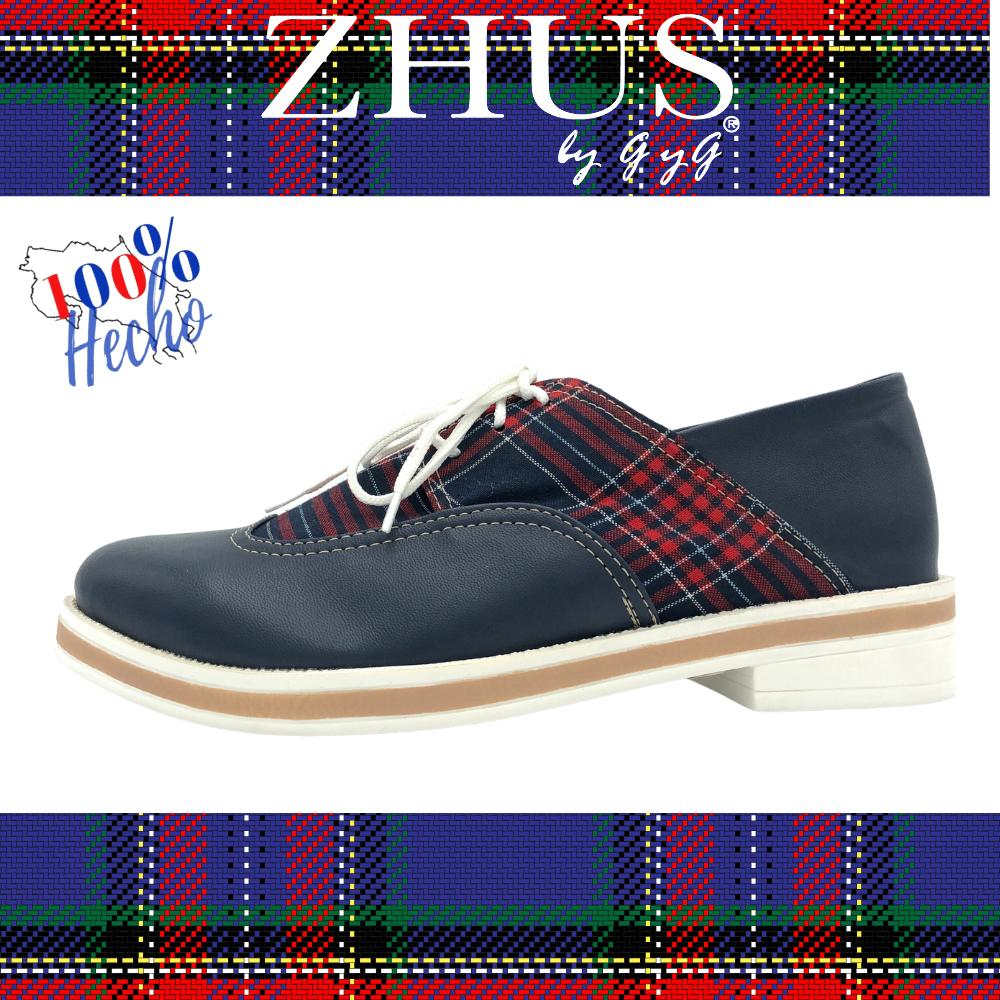 ZHUS OXFORD ESCOCES AZUL
