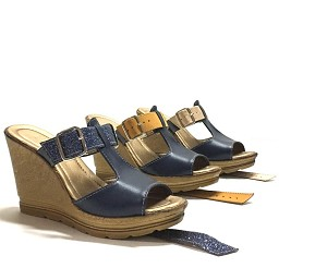 "ZHUS WEDGE ""3 EN 1"" AZUL CON FAJITAS DE COLORES INTERCAMBIABLES"